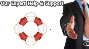 Help and support of an expert online business team