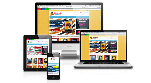 Fully responsive white label internet business design