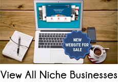 View all our niche online business websites for sale