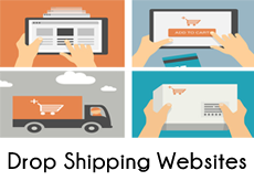 Drop shipping website businesses for sale