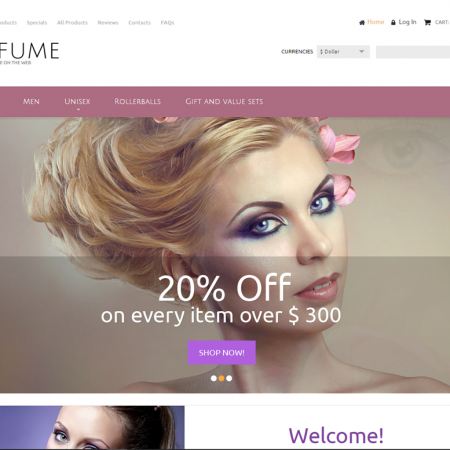 Perfumes drop shipping website business opportunity