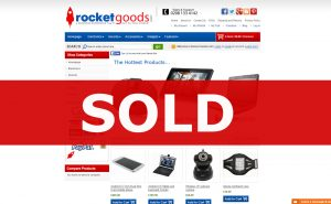 Rocket goods established online website business for sale