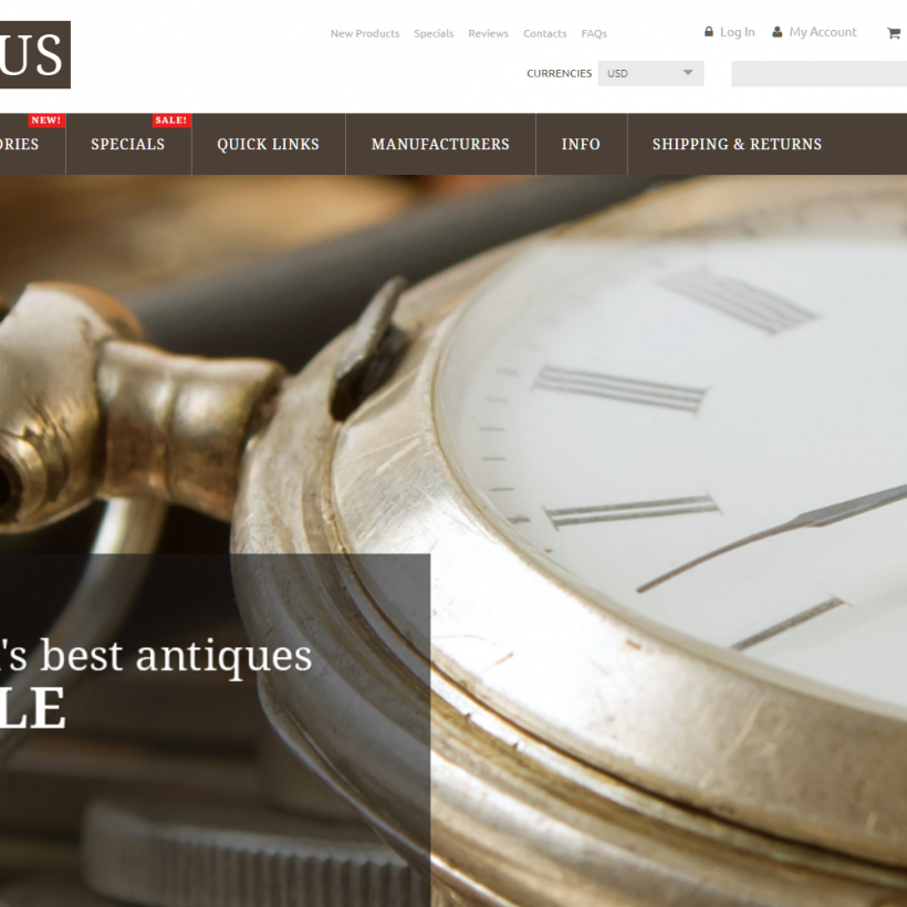Antiques business opportunity for sale