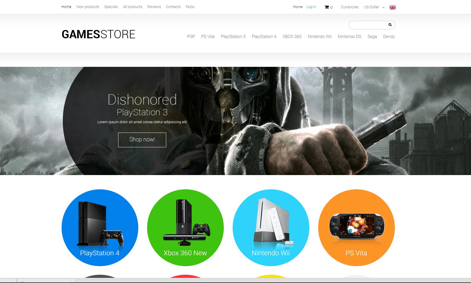 Buy computer games drop ship website business for sale for Online websites for sale