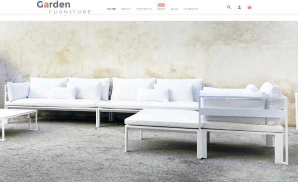 Garden furniture website business opportunity for sale