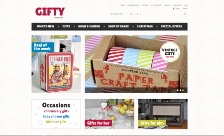 Gifts drop shipping online website business opportunity for sale