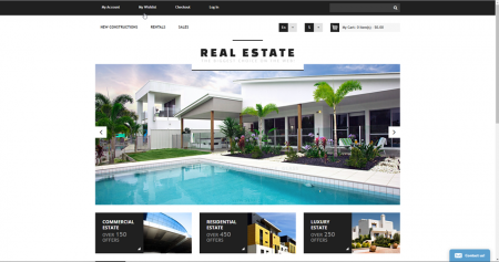 Real estate realtor online business for sale