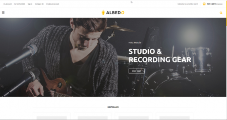 Recording studio drop shipping store