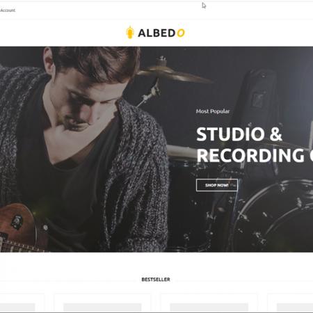 Recording studio drop shipping store