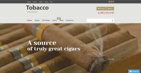 Tobacco store internet website business opportunity for sale to buy now