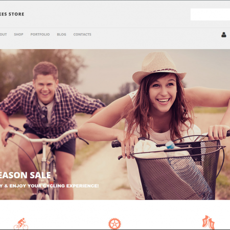 Cycles online website business