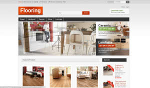 Flooring online drop shipping website business opportunity company for sale