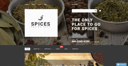 Herbs n spices drop shipping website business for sale