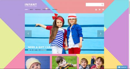 Buy an infant kids drop shipping store business for sale