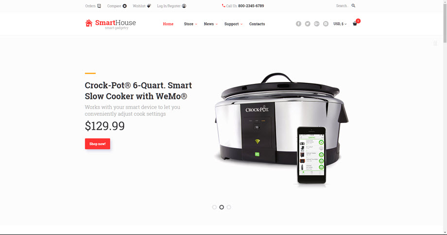 Smart intelligent home drop shipping website business opportunity for sale