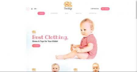 Kids and infant drop shipping website business for sale to buy an online business