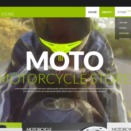 Motor bike online website business opportunity for sale business