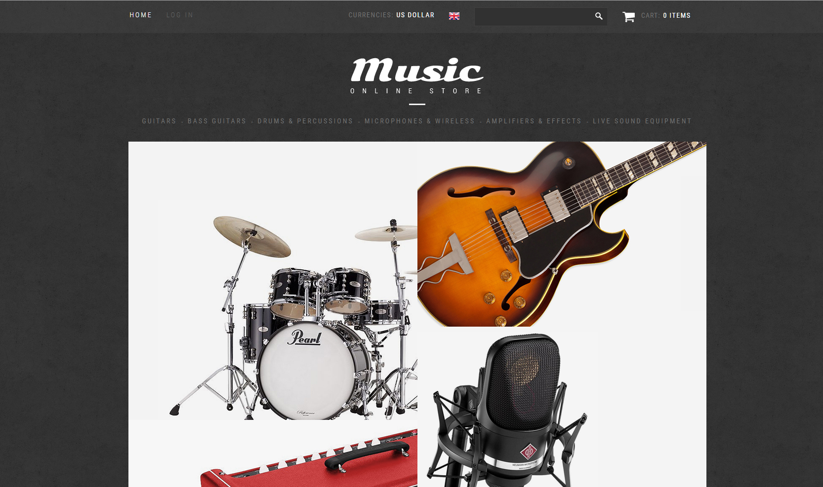 Turn key music store drop shiping website opportunity for for Online retailer for sale