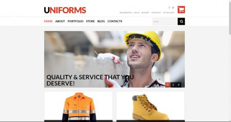 Uniforms work men online website business for sale to buy an online website business