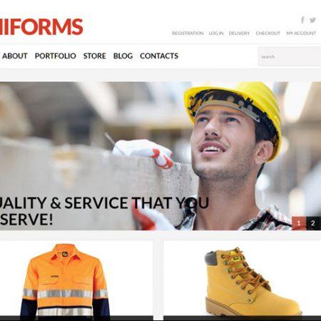 Uniforms work men online website business for sale to buy an online website business