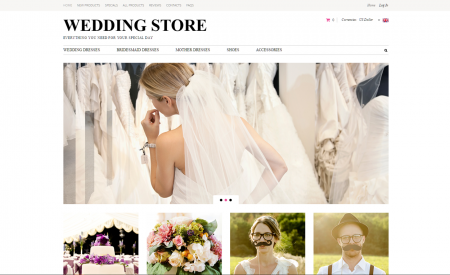 Wedding online drop shipping online website business opportunity for sale
