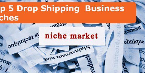 Top 5 drop shipping business niche markets
