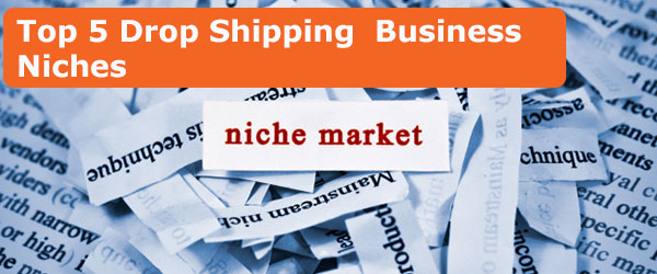 Top 5 drop shipping business niche markets