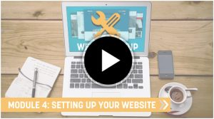 Learn ho to set up an ecommerce website course