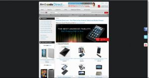 Androids direct drop shipping website business for sale