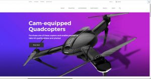 Drones drop shipping store for sale
