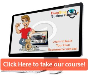 Drop shipping online Video training course