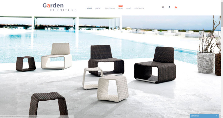 Garden furniture online buisness for sale buy a website