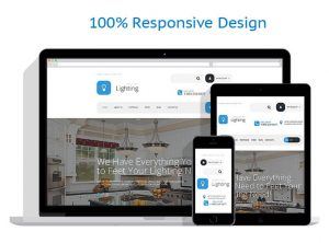 Run a lighting drop shipping website business for sale