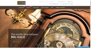 Antiques drop shipping website business for sale