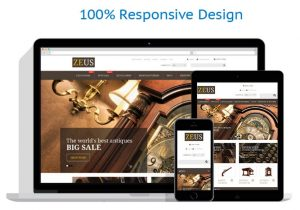 Responsive antiques drop ship website