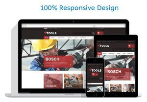 Tools website theme template online drop ship business for sale online