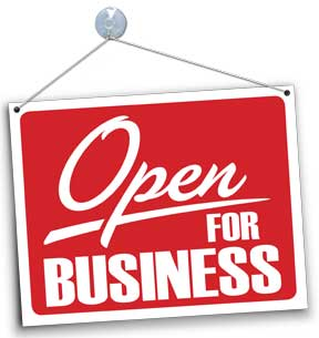 We are now open for internet business