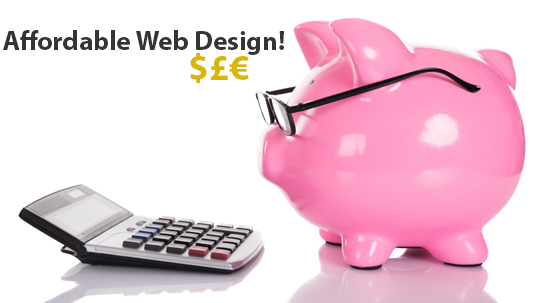 Affordable website design national agency