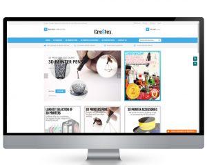 Ecommerce website design portfolio services