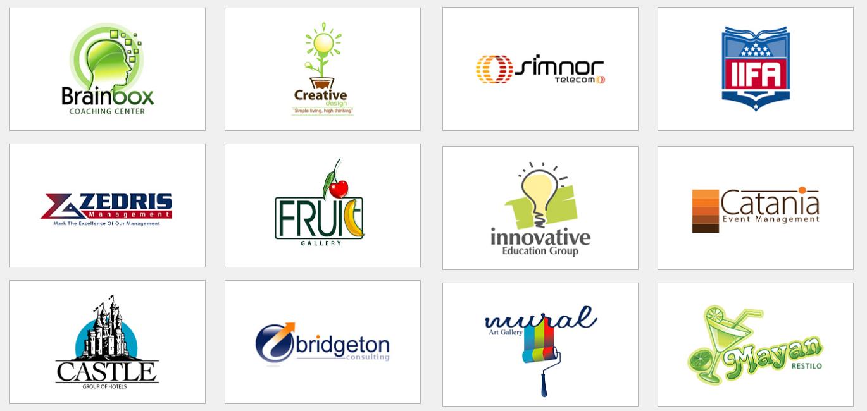 Affordable logo design portfolio packages