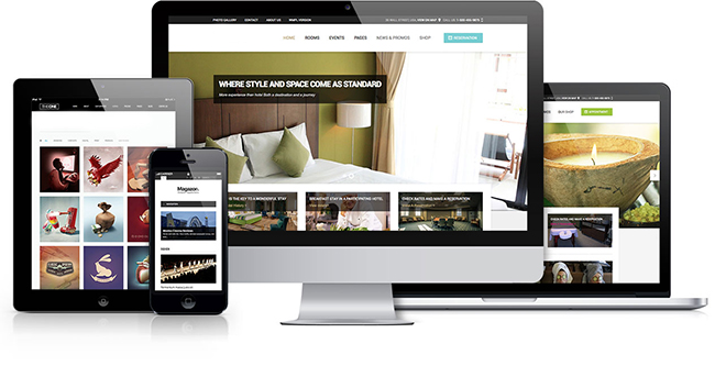 Responsive website design services company