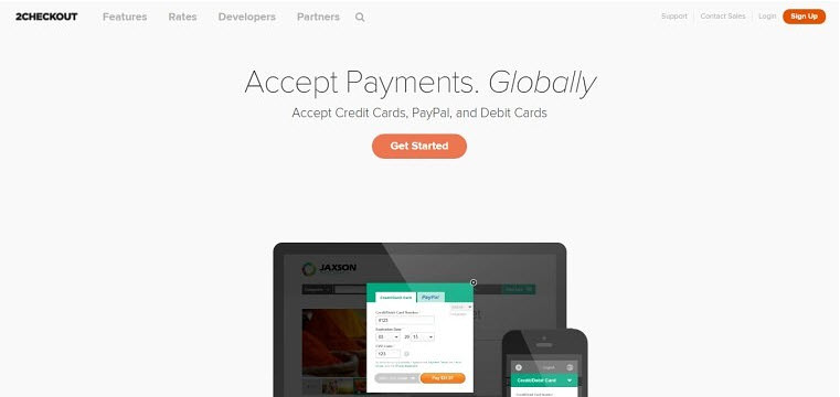 2Checkout finding a payment processor for your a website