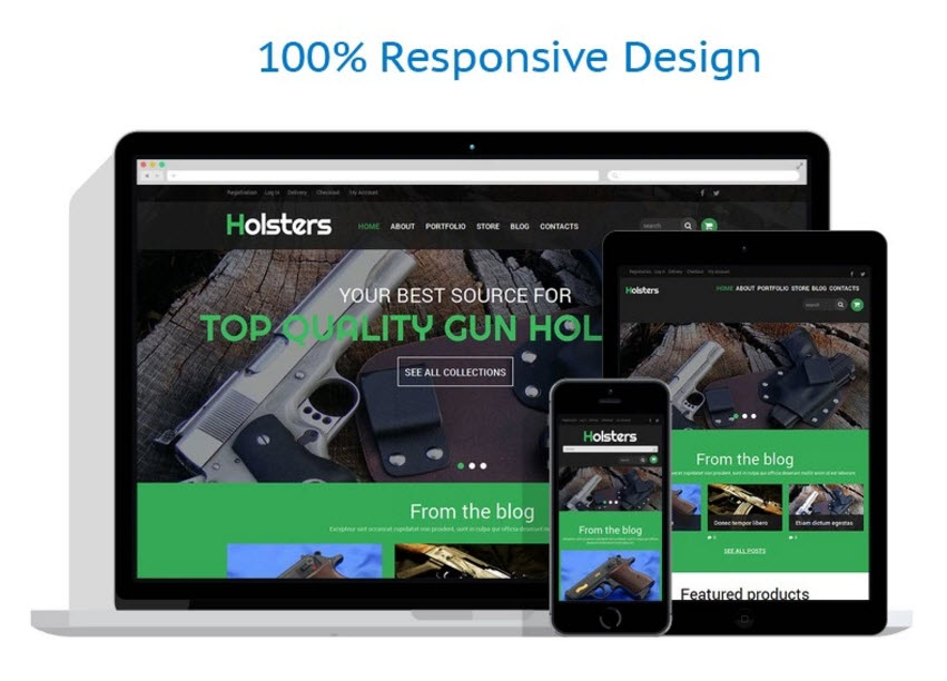 Gun holsters drop shipping online website business opportunity