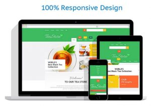 Premium teas drop shipping internet website business opp for sale