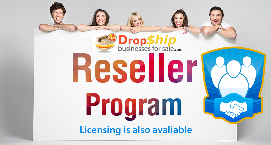Official drop shipping website reseller program
