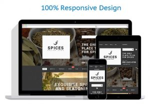 Herbs and spices drop shipping website business opportunity for sale