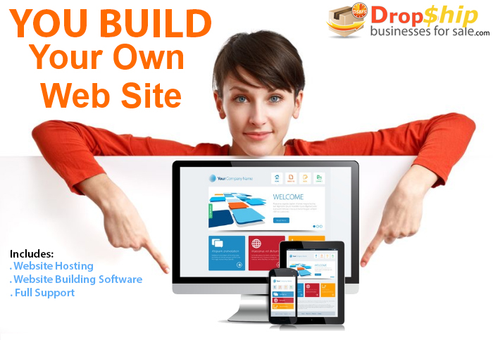 Build Your Own Website With Us Drop Ship Businesses For