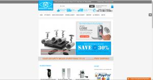 Eye spy tech E-commerce website is for sale