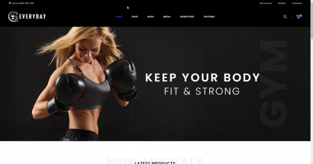 Fitness online drop shipping store business UK